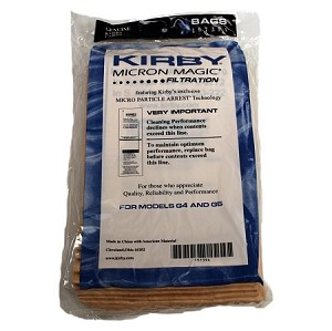 Kirby Vacuum Bags Micron Magic 9 Pack G4 & G5 OEM # 197394