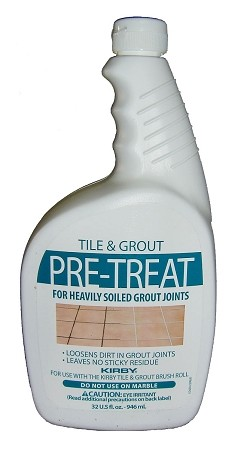 Kirby Tile & Grout Pre-Treat 32 Ounce OEM # 245214